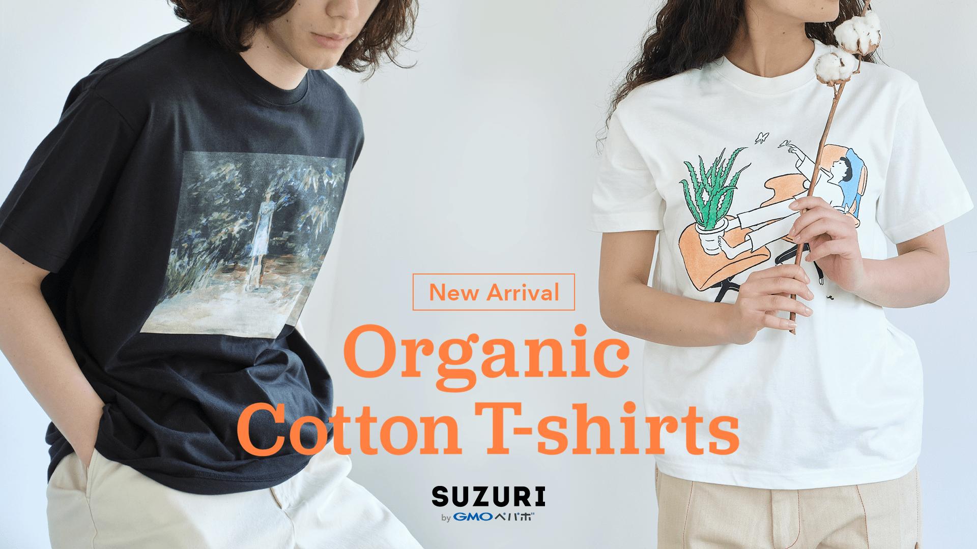 New Arrival Organic Cotton T-shirts SUZURI byGMOペパボ